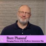 Brett Phaneuf- IBM Mayflower Autonomous Ship