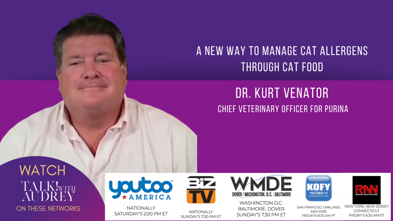 Dr. Kurt Venator - Chief Veterinary Officer- TALK! with AUDREY