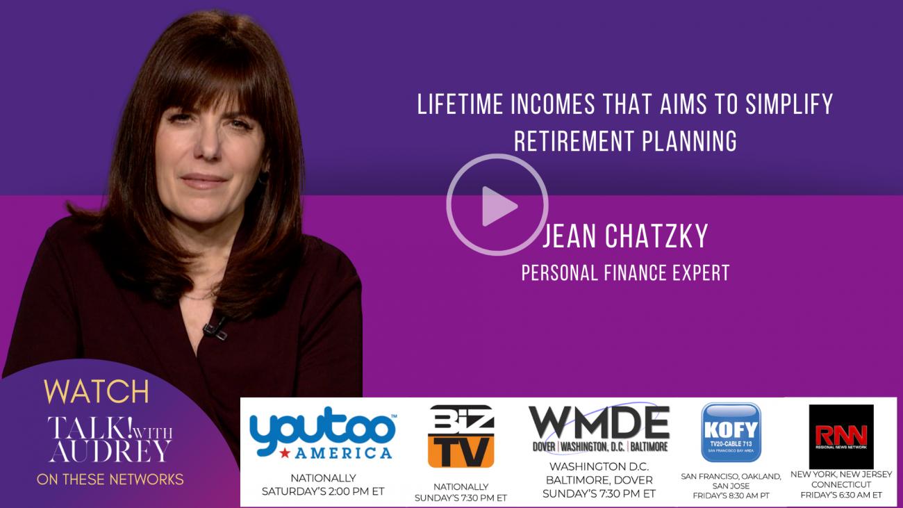 Jean Chatzky – TALK! with AUDREY TV