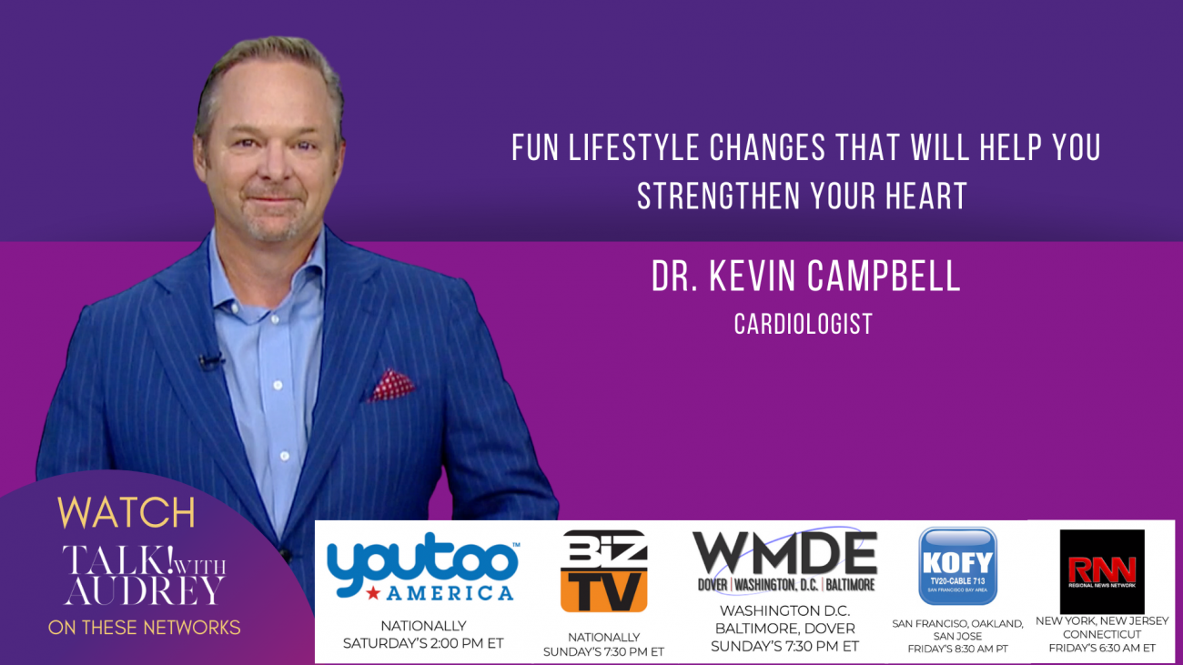 Dr. Kevin Campbell - Caridologist - TALK! with AUDREY TV
