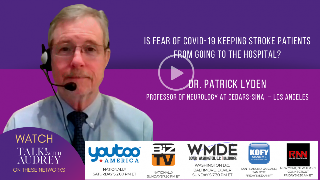 Patrick Lyden – TALK! with AUDREY TV