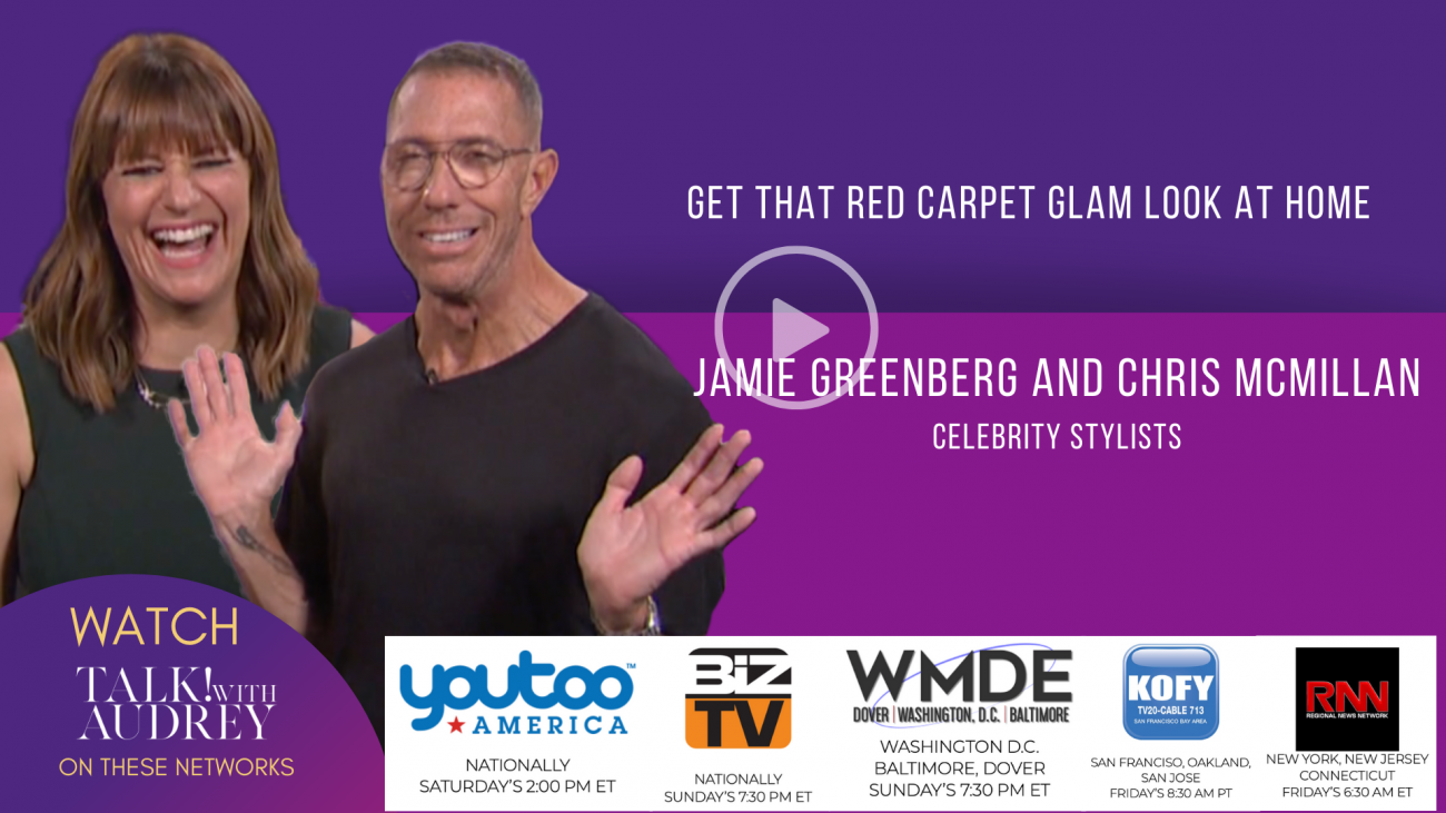Jaime Greenberg and Chris McMillan – TALK! with AUDREY TV