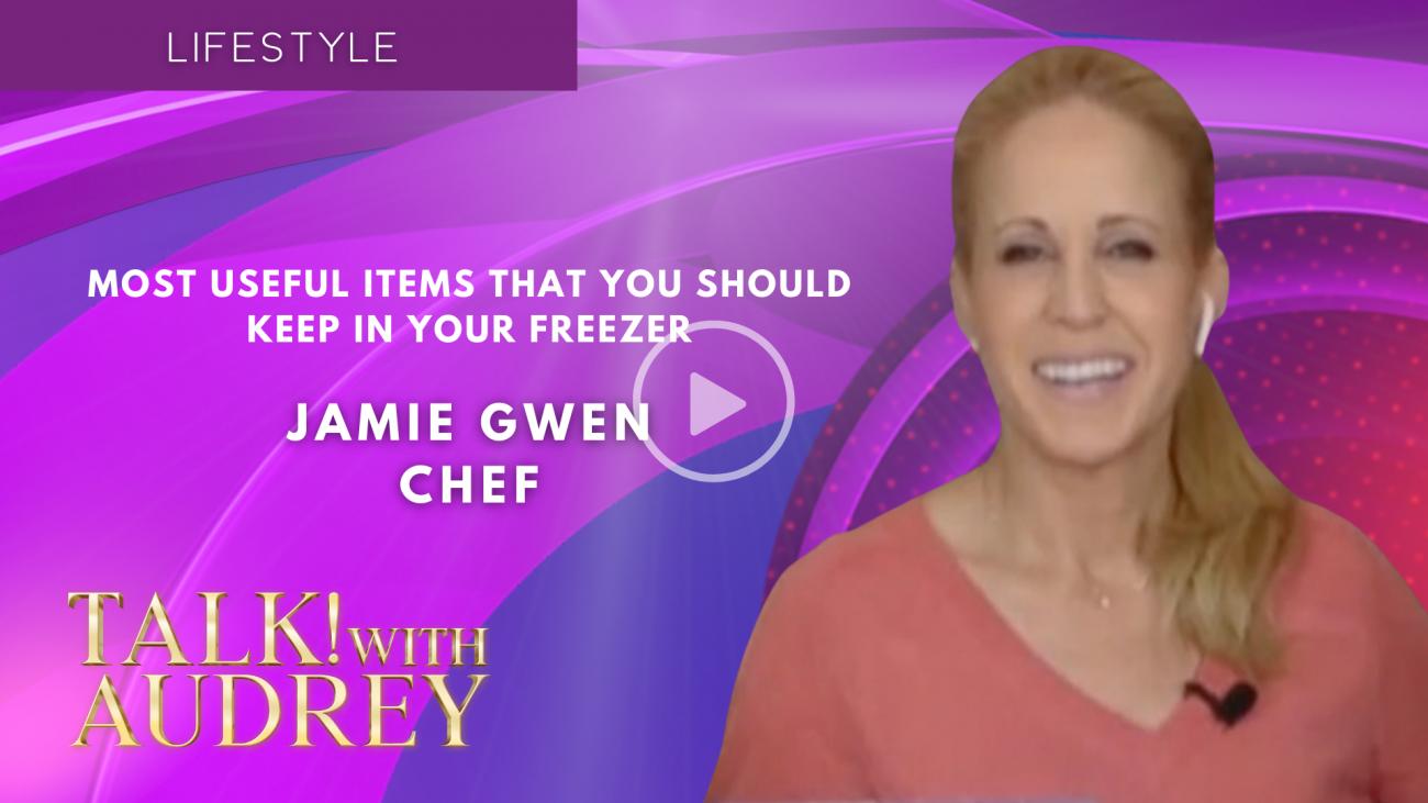 Chef Jamie Gwen - TALK! with AUDREY TV