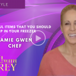 Chef Jamie Gwen Shares Some of The Most Useful Items That You Should Keep in Your Freezer