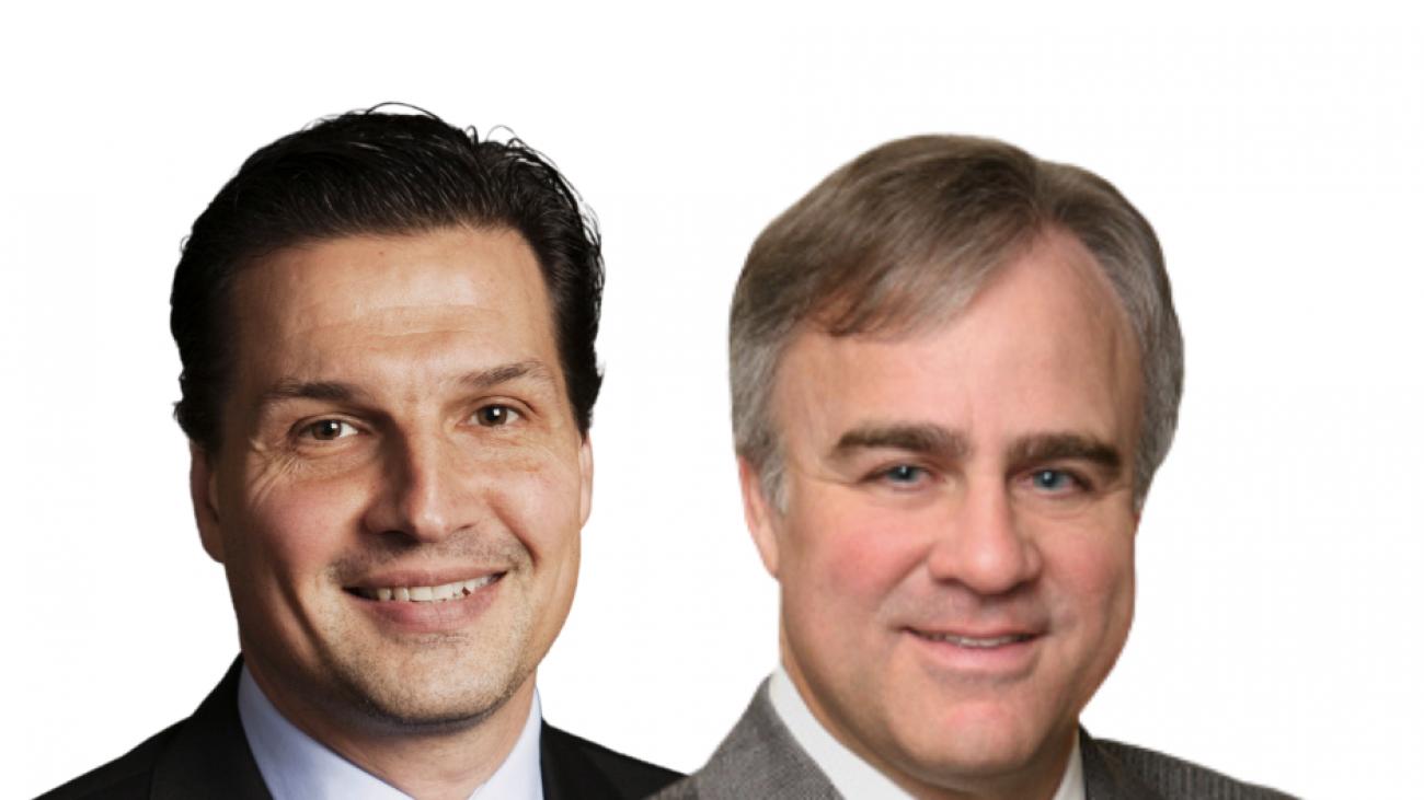 Dr. Ruchim and Eddie Olcyzk