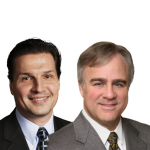 Dr. Michael Ruchim, Gastroenterology Specialist at Northwestern Medicine Digestive Health Center, and his patient, former NHL All-Star Eddie Olczyk: Colorectal Cancer Awareness