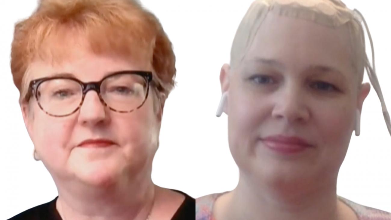 Dr. Karen Fink and Jeanneane Maxon -TALK! with AUDREY RADIO