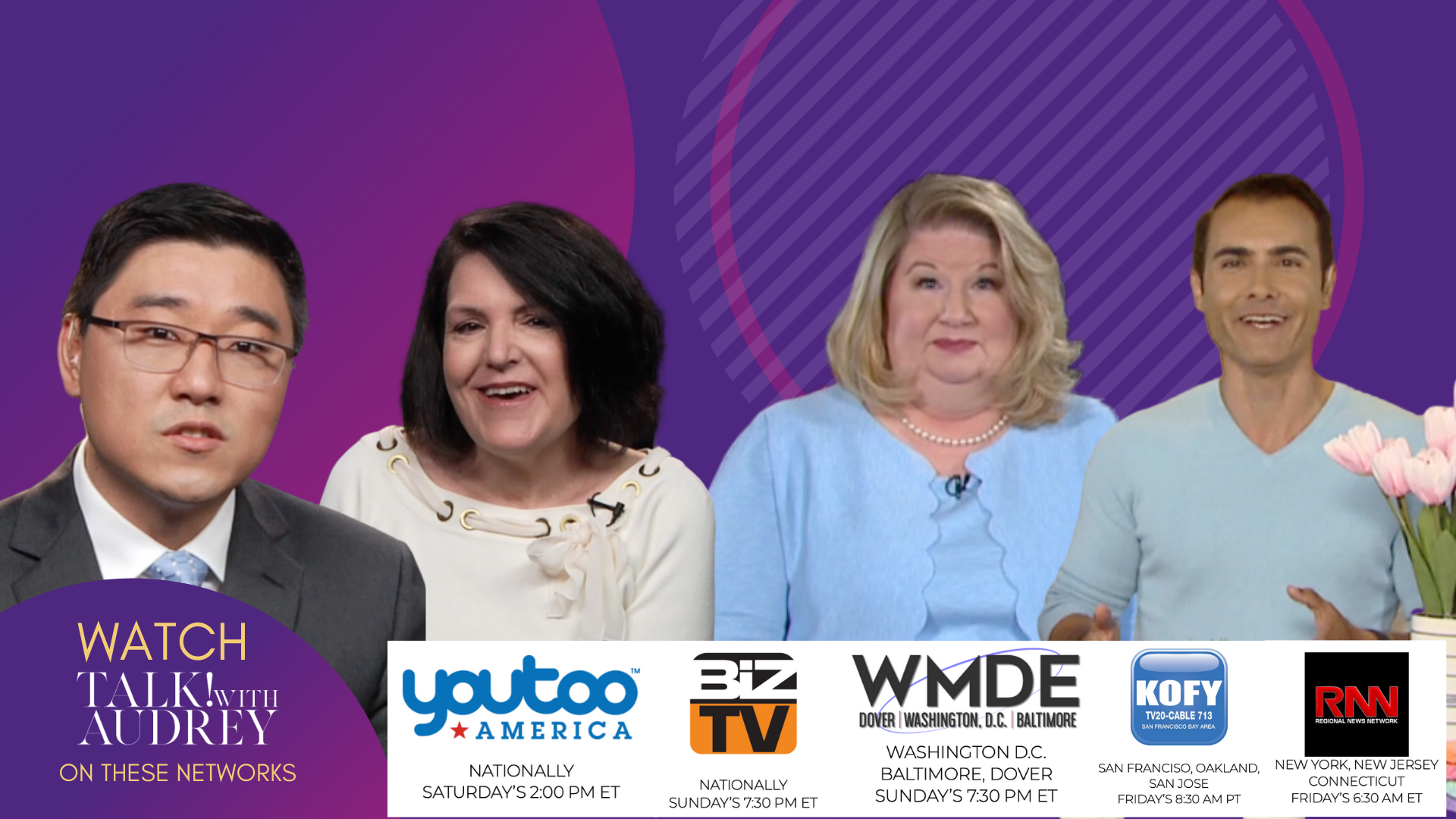 April 24-27, 2020 – TALK! with AUDREY TV