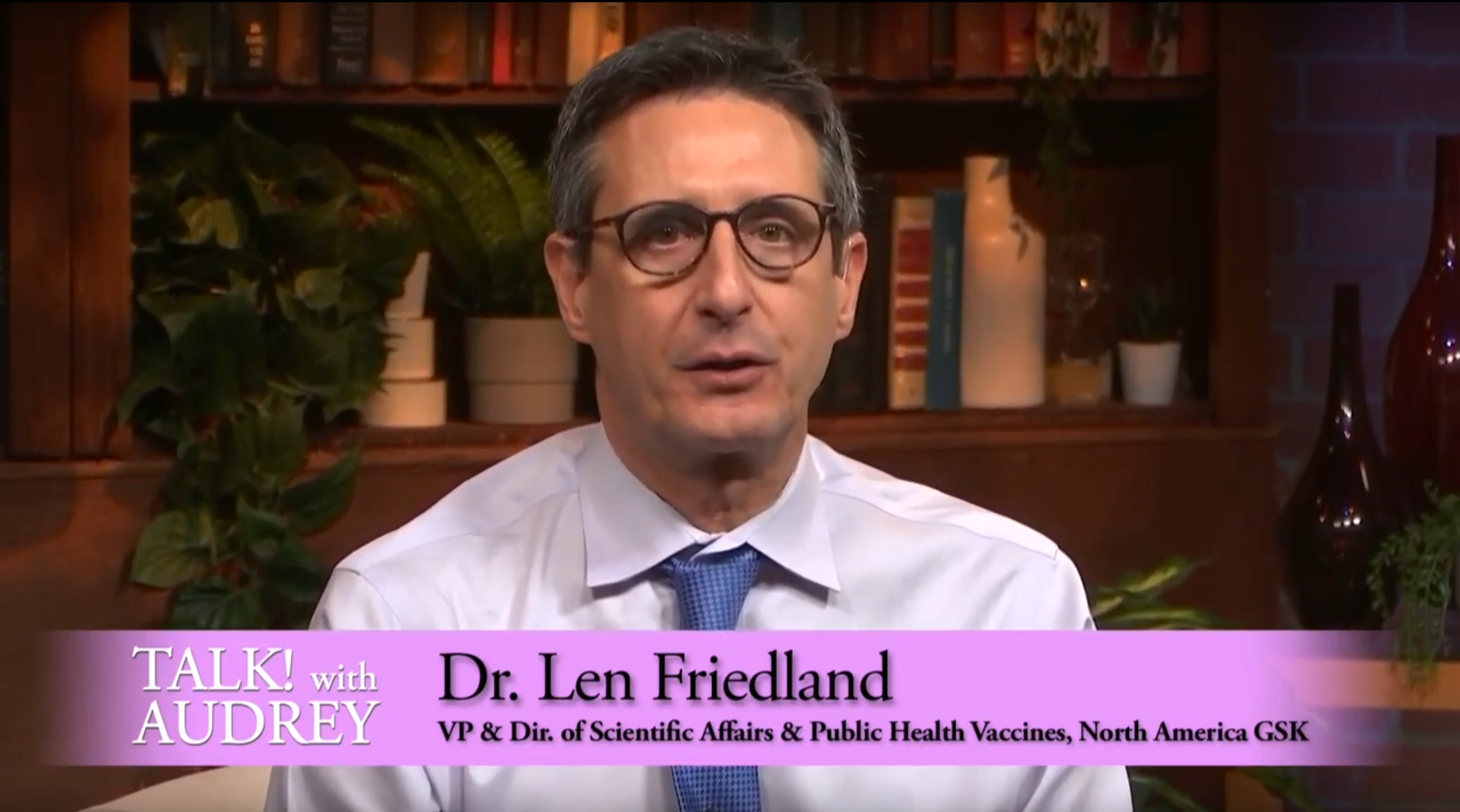 Dr. Len Friedland and Tiffany Williams – Meningitis B
