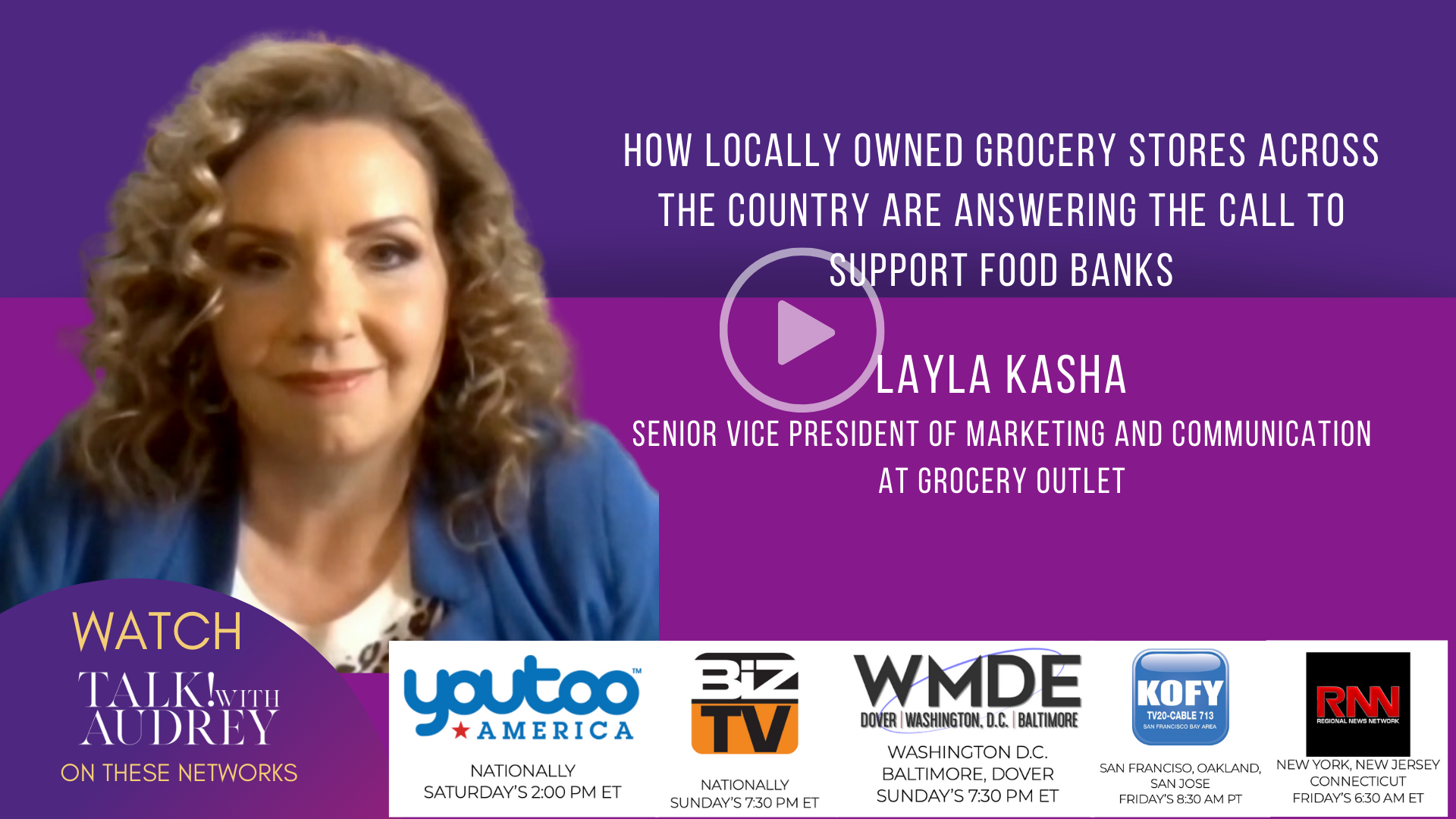 How Locally Owned Grocery Stores Across The Country Are Answering The Call To Support Food Banks – TALK! with AUDREY TV