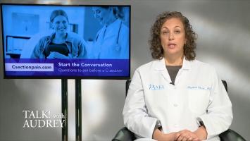 Dr. Elizabeth Cherot on C-Section Pain Management