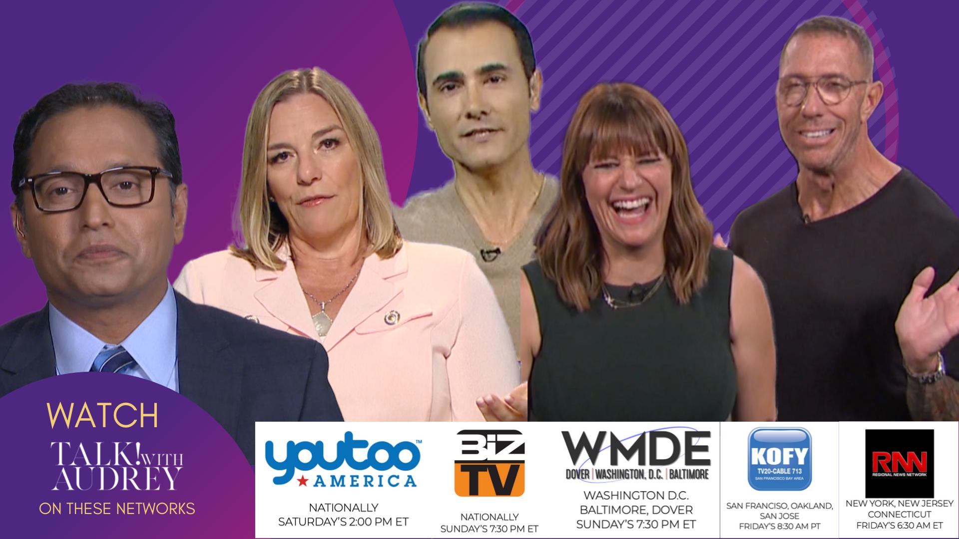 September 20-22, 2019 – TALK! with AUDREY TV