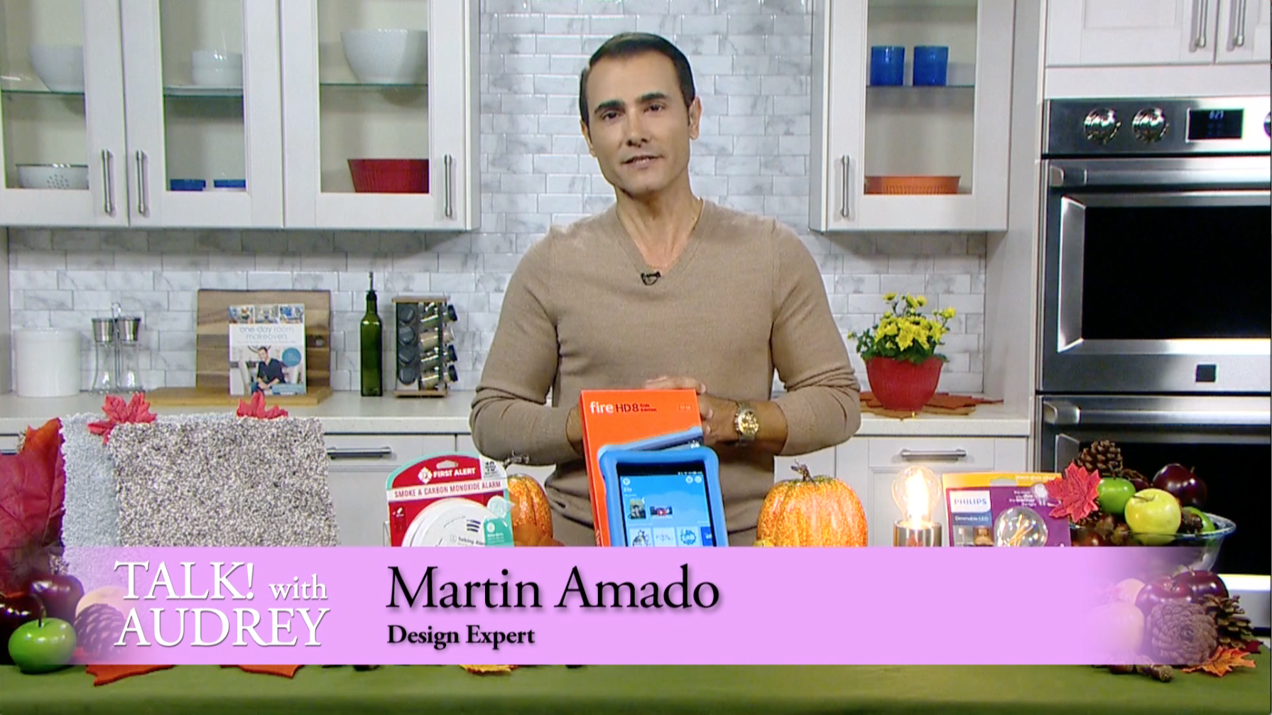 Martin Amado – Fall Home Refresh