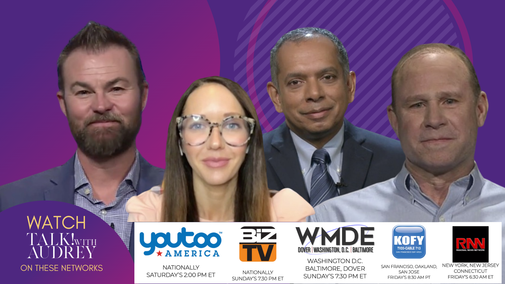 April 17-20, 2020 – TALK! with AUDREY TV