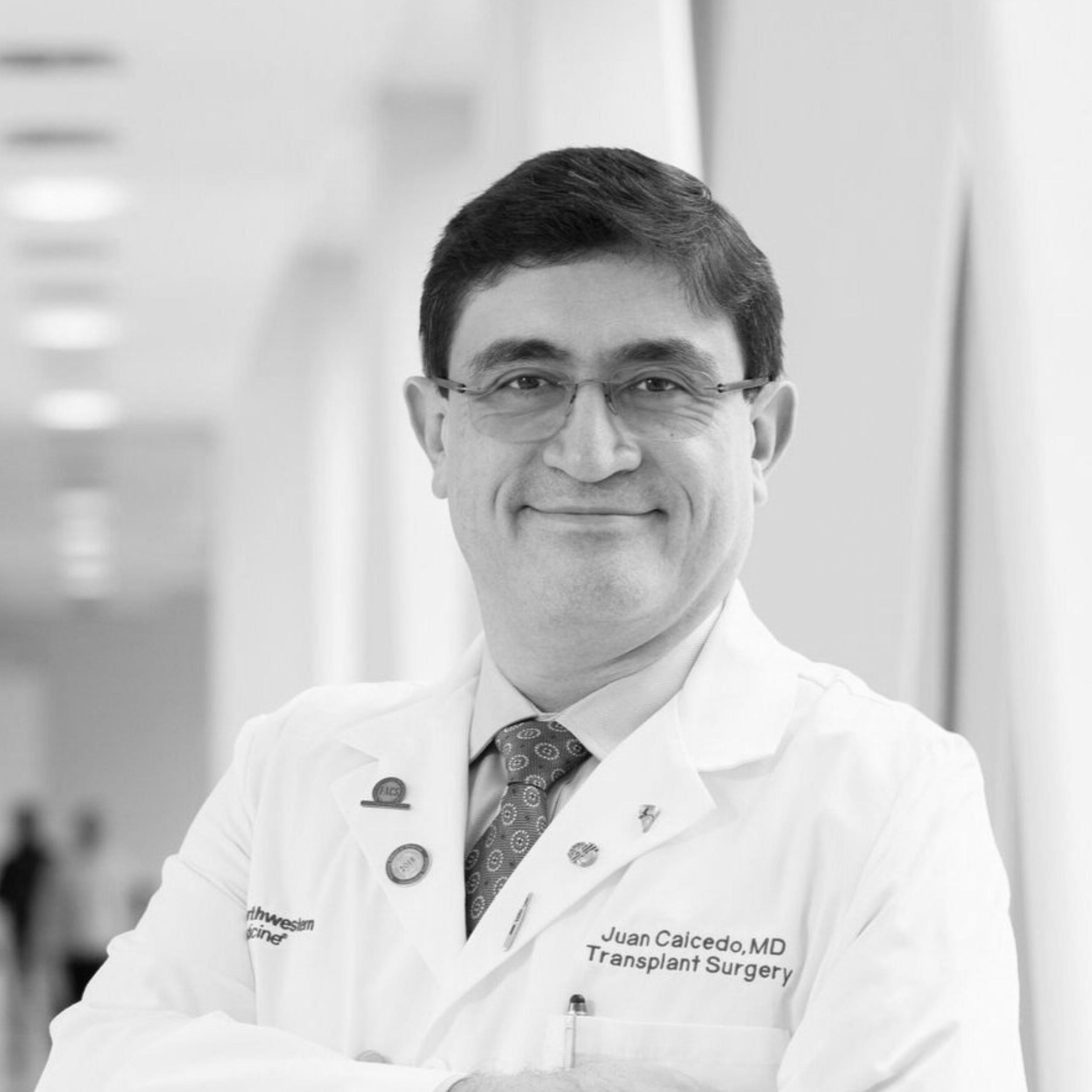 Dr. Juan Caicedo, Director of Northwestern Memorial Liver Transplant Program: Should You Become an Organ Donor?