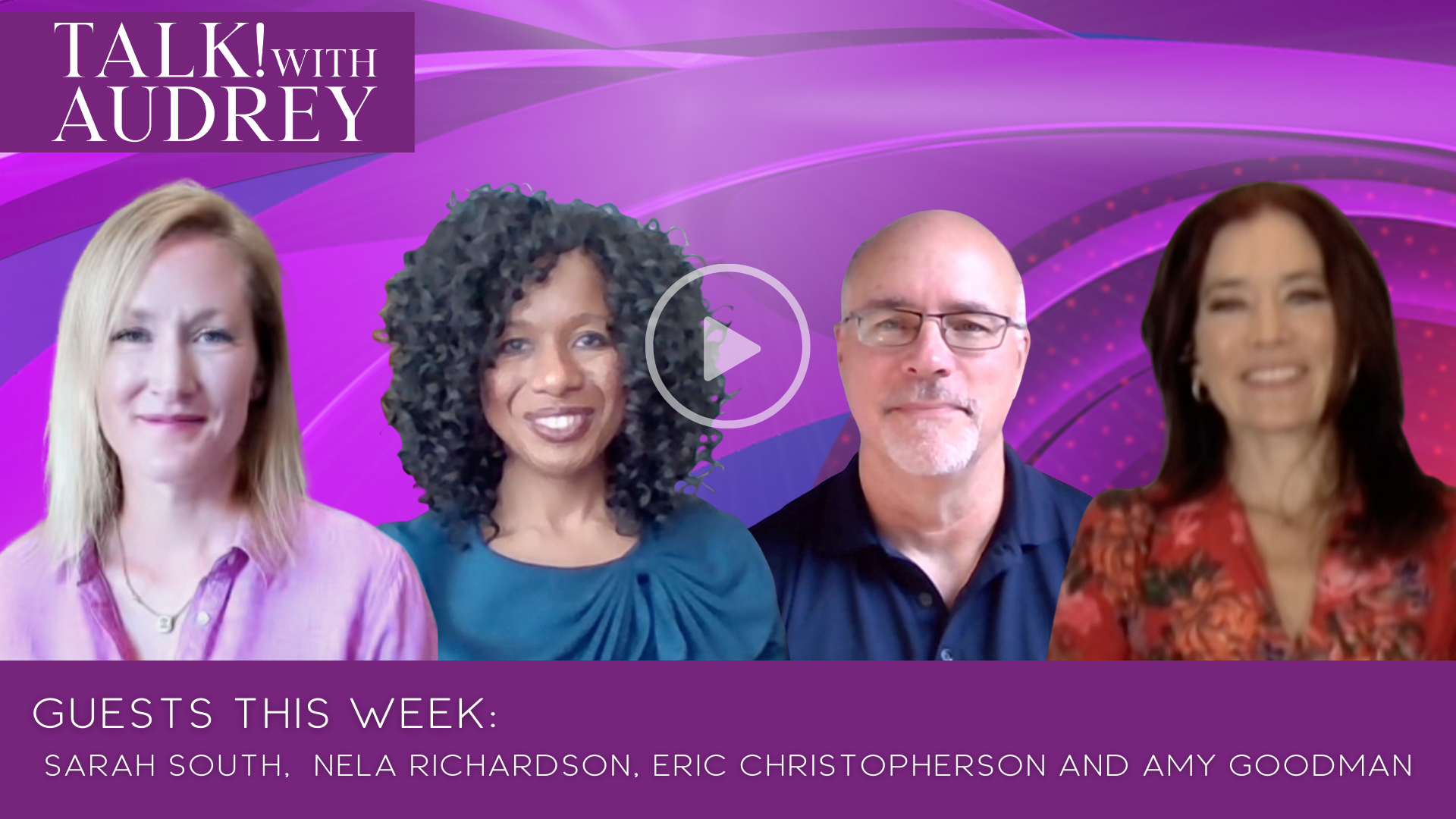 This Week October 2-4, 2020 on TALK! with AUDREY